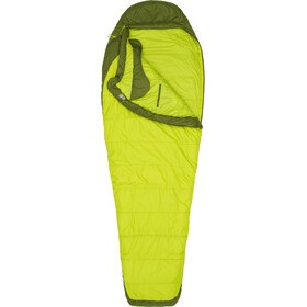 Marmot Trestles Elite 30 Sleeping Bag Long Unisex green lichen/greenland
